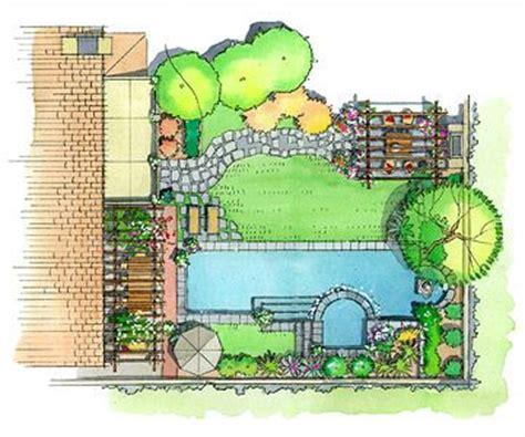 Backyard Blueprints by Best 25 Simple Landscape Design Ideas On