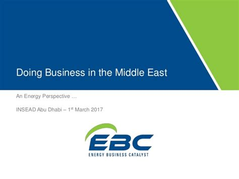 Top Mba Universities In Middile East by Doing Business In The Middle East