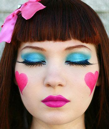 Mascara Harajuku 24 best images about makeup on doll makeup my pony and mime makeup