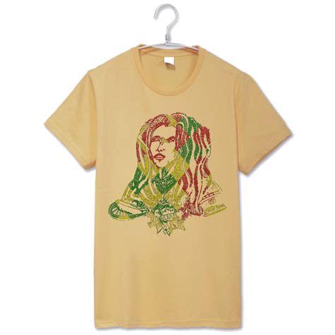 Kaos Bob Marley Jamaica Print On Gildan rasta camisa compra lotes baratos de rasta camisa de china vendedores de rasta camisa en