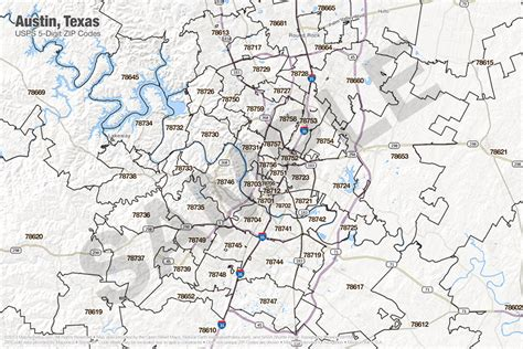 printable zip code maps austin map zip codes zip code map