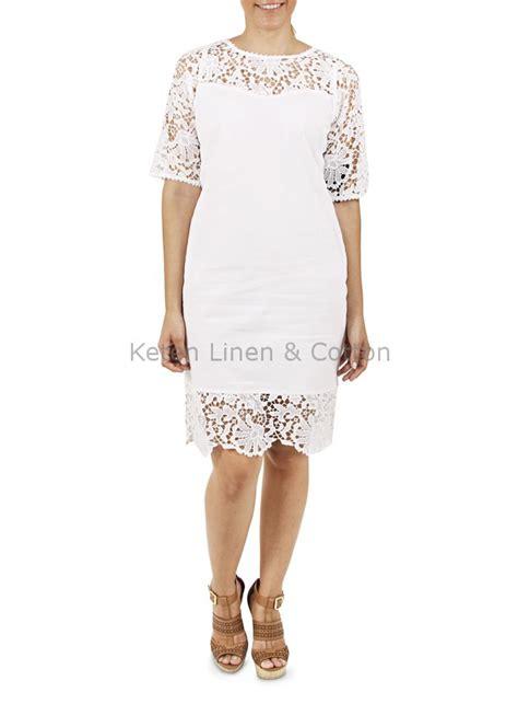 vestido de encaje blanco corto vestido blanco corto con encaje color blanco