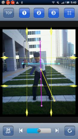 how to groove a golf swing groove golf swing for android 24コマの連続写真でフォームをチェック