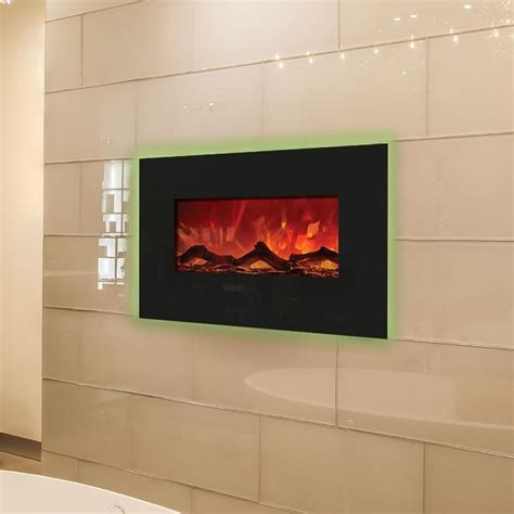 electric fireplace bathroom amantii enhanced series 26 inch wall mount built in