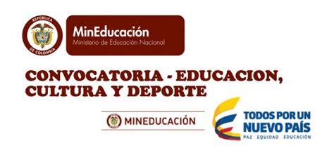 el ministerio de educacion cultura y deporte del gobierno de espana ministerio de educacion cultura y deporte convocatoria