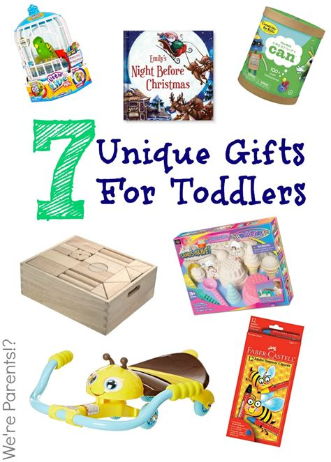 7 unique gifts for toddlers holiday 2014 we re parents