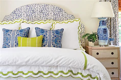 blue and green master bedroom keep beds made and nightstands clear 10 shortcuts to an