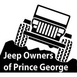Jeep Sticker Jeep Owners Of Prince George Yj Jeep Decal