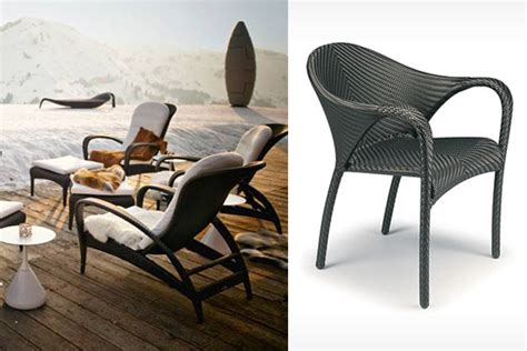 Dedon Patio Furniture Patio Things Collection By Dedon Is Distinguished By Its Flowing And Rhythmic