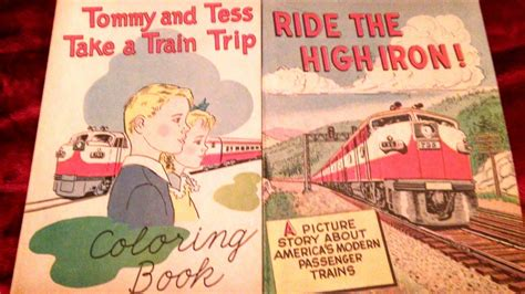 childrens books collectors weekly railroad color books 1950s 1960s collectors weekly