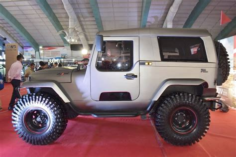 mahindra jeep thar 2017 mahindra thar daybreak edition top launched for rs 20