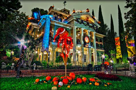 the sights of haunted mansion holiday at disneyland the disney world vs disneyland guest edition theme park