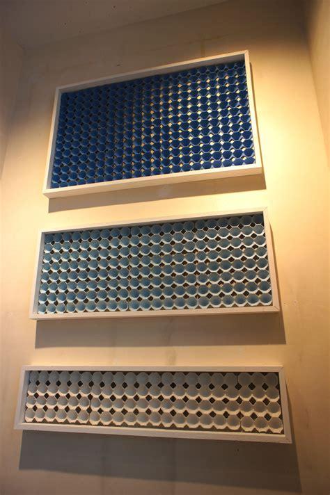 egg carton wall art acoustic panels diy sound panel