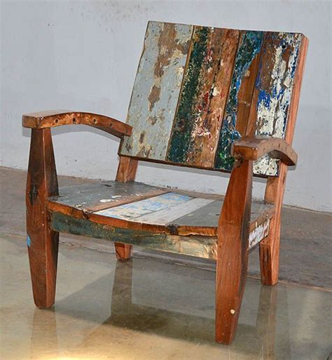 outdoor boat chairs buy a hand made reclaimed teak adirondack style chair made