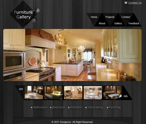 tutorial website gallery creating a clean furniture website and gallery layout in