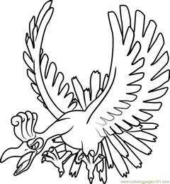 ho oh pokemon coloring page free pok 233 mon coloring pages