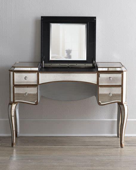 Mirrored Vanity Desk by Mirrored Vanity Desk