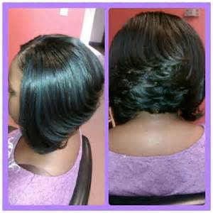sew in bobs hairstyles stacked bob haircut hairstyle for black women partial