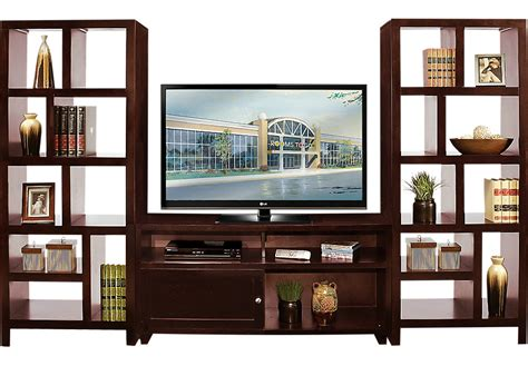 wall unit espresso 3 pc wall unit wall units wood