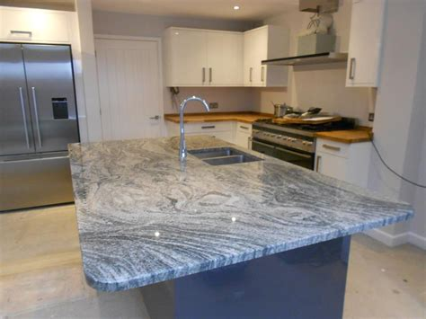 viscount white granite viscount white granite 30mm worktops fitted in tongham