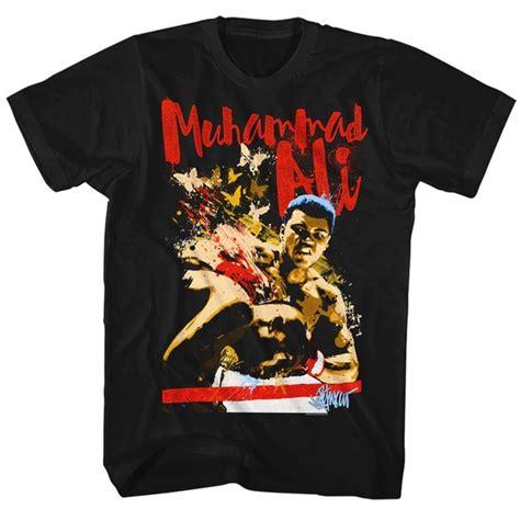 Muhammad Ali Black Shirt muhammad ali shirt butterfly bee black t shirt muhammad