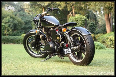 Modified Bobber by Thumper Royal Enfield Electra Modified Bobber 350cc