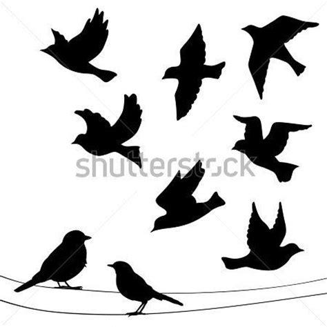 imagenes halloween vectorizadas 17 mejores ideas sobre tatuajes de silueta de aves en