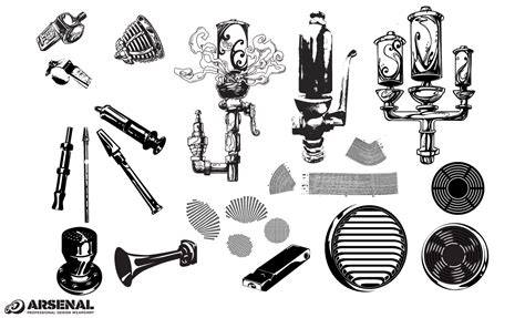 whistles vents vector pack illustrations  creative