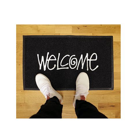 Stussy Doormat by Stussy Pvc Welcome Mat Black Hlstore Highlights