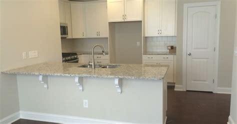 Kitchen With Brick Backsplash completed kitchen timberlake sonoma painted linen