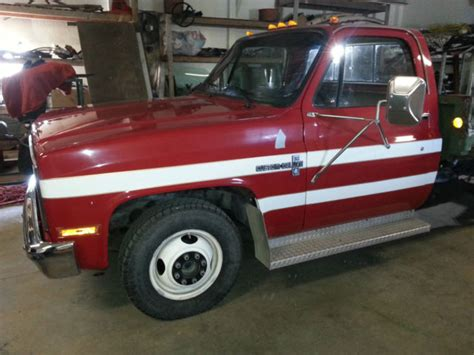 truck bed rs 1987 chevy 3500 truck 11 550 mile chevelle camaro rs ss