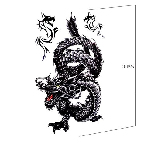 black dragon tattoo designs the gallery for gt black