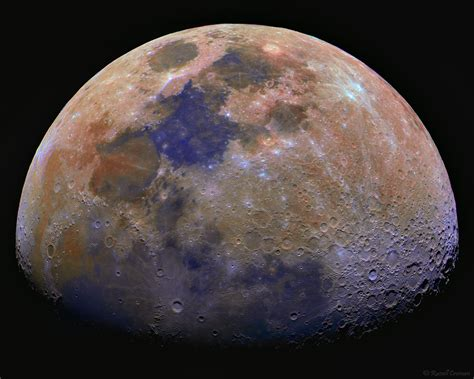 what is the color of the moon geosphere some facts about the moon