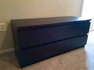 Black Malm Dresser by Black Malm 4 Drawer Dresser Chest Of Drawers