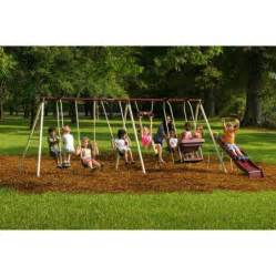 flyer backyard swing set flyer play park metal swing set