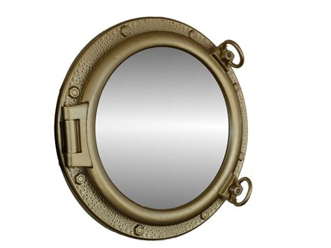 porthole mirror wholesale gold leaf finish porthole mirror 20 inch