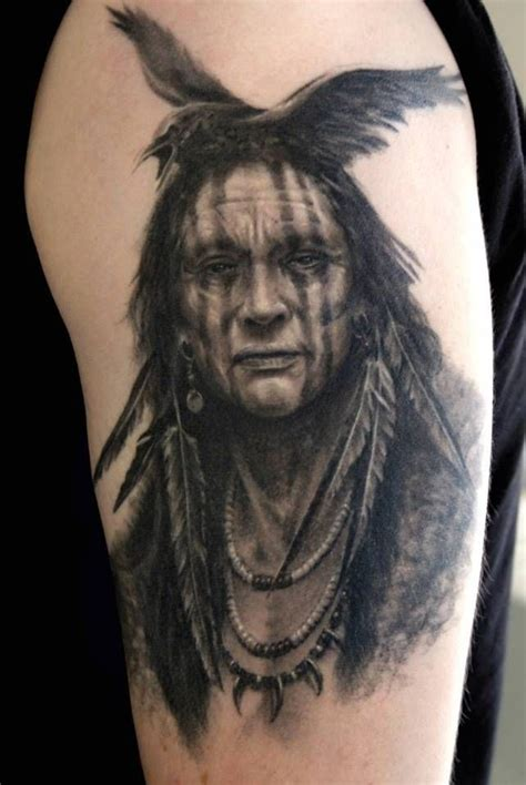 american crow tattoo indian tattoos great tattoos brave with