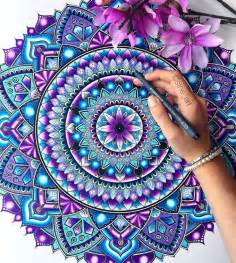 how to color mandalas best 25 mandala coloring ideas on mandala