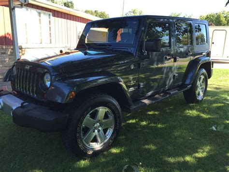 Jeep Wrangler Unlimited For Sale In Michigan 2008 Jeep Wrangler Unlimited For Sale In Vassar