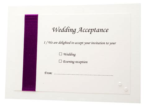 acceptance card template wedding acceptance card other products 163 1 50 kouchi