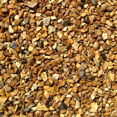 10mm Gravel 10mm Golden Gravel Golden Flint Gravel Solent Gold