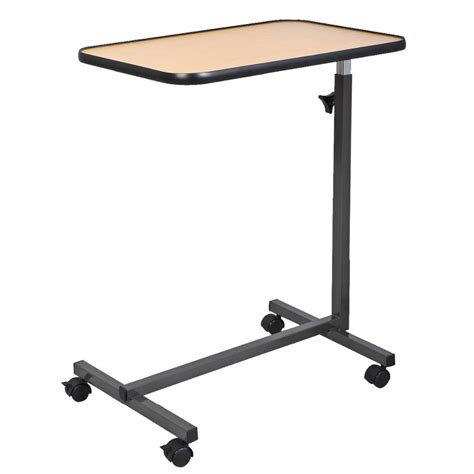 Rolling Tray Table by Rolling Table Bed Laptop Food Tray Hospital Desk With Tilting Top In Serving Trays From