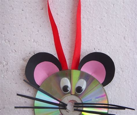 recycled cards crafts cards crafts projects recycled cd craft