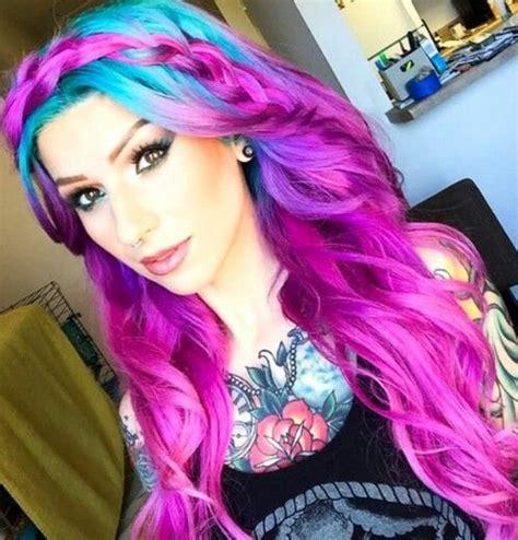 Holgen Purple beautiful t 252 rkis and haarfarbe on