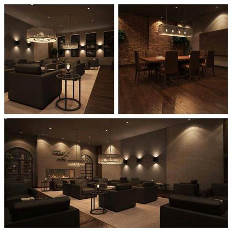 Home Theatre Decoration Ideas Cigar Lounge Man Cave Ultimate Man Caves Pinterest