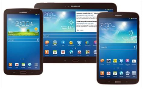 Samsung Tab 4 Dan 3 what s the best android tablet nexus vs samsung galaxy tab 3 cio