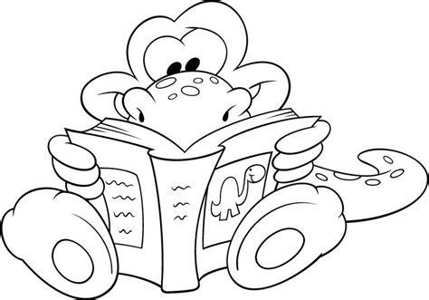 libro del dibujo infantil a colorear dia libro03