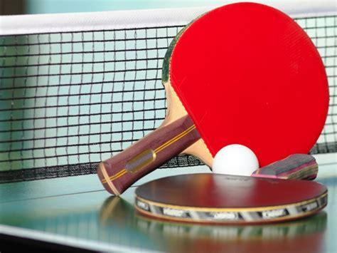 tennis tavolo un esibizione di livello mondiale per festeggiare il primo