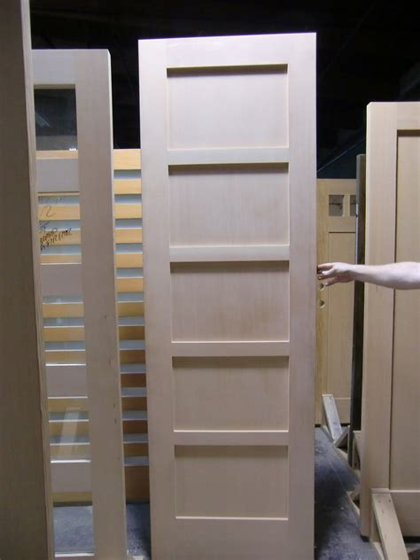 5 Panel Exterior Door Door Express Seattle Product Details Exterior 5 Panel Stain Grade Knotty Alder Craftsman