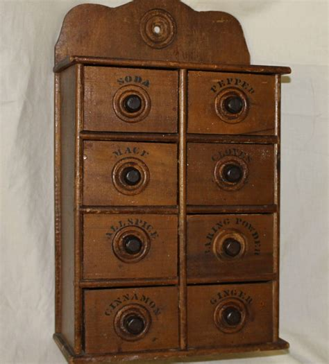 Spice Cabinet Wall Mount Bargain S Antiques 187 Archive Wall Mount Wooden